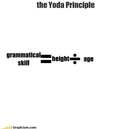 equation grammar principle star wars yoda - 5496949248