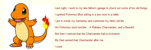 charmander fathers day feels