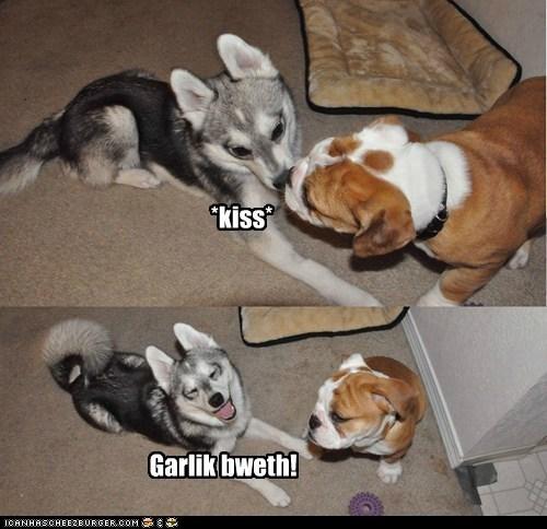 *kiss* Garlik bweth!