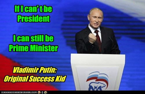 Memes political pictures success kid Vladimir Putin - 5497212928
