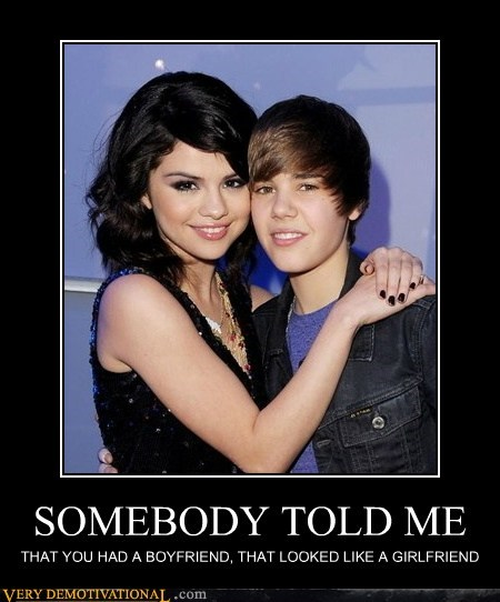 girlfriend hilarious justin bieber somebody told me song - 5497835008