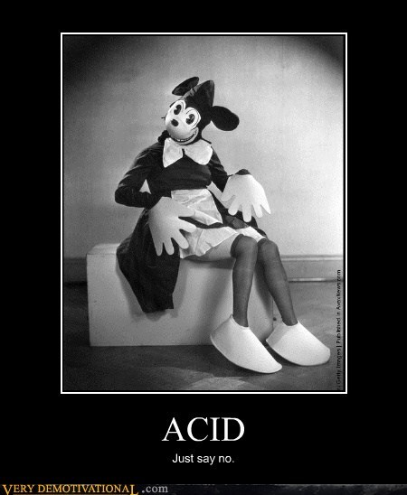 acid,drugs,mini mouse eww,Terrifying