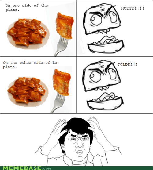 cold food hot my mind is full of Rage Comics - 5497977600