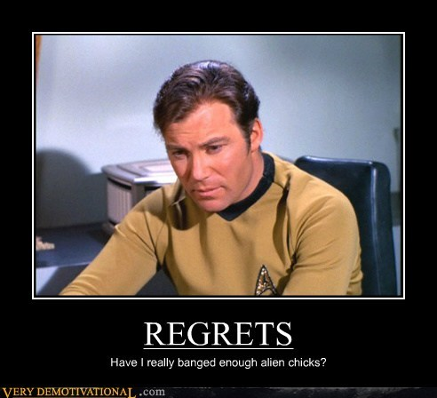 Aliens hilarious james t kirk Star Trek - 5498726144