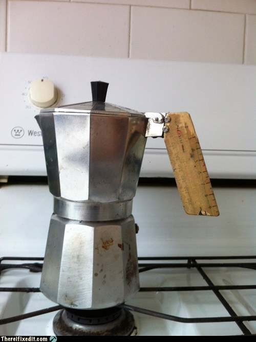 coffee,dual use,kitchen kludge,ruler