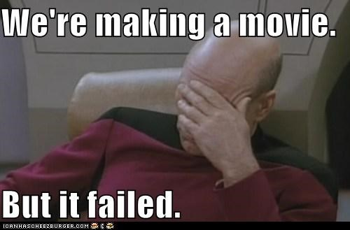 failed jean-luc picard Movie Nemesis patrick stewart Star Trek - 5499099392