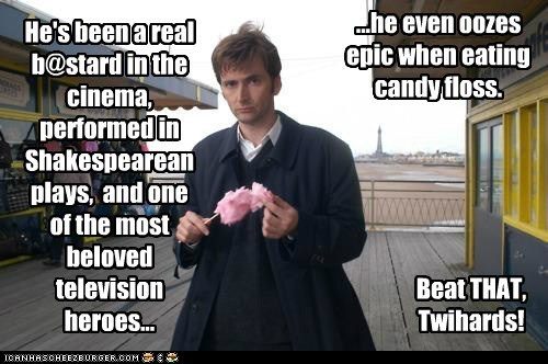 candy floss cinema cotton candy doctor who plays shakespeare the doctor twihards - 5499119872