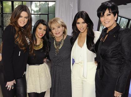 barbara walters,derek jeter,donald trump,kardashian,katy perry,Khloe Kardashian,kim kardashian,kourtney kardashian,Modern Family