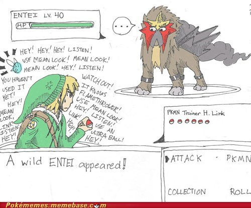art entei Hey link listen mean look navi zelda