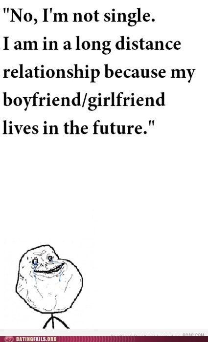 forever alone,long distance relationship,the future,waiting,We Are Dating