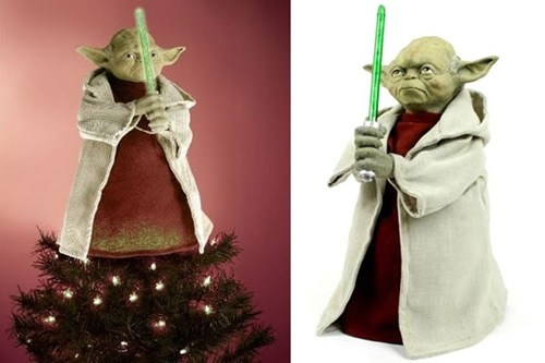 christmas tree,nerdgasm,ornament,star wars,swag,yoda