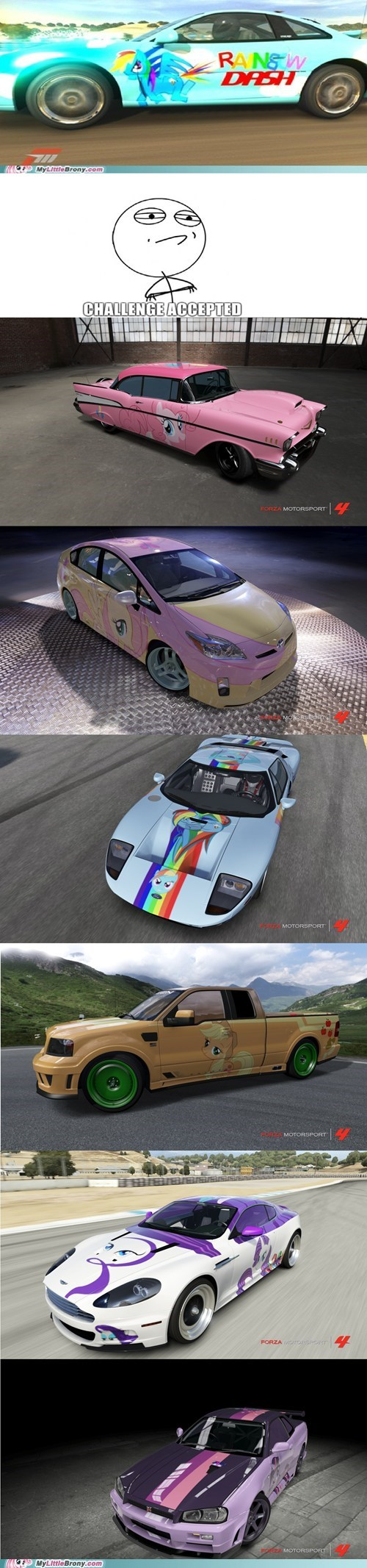 awesome best of week crossover forza 4 mane six video games - 5500680704