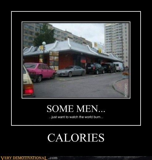 burn calories hilarious McDonald's