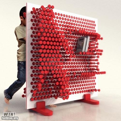 books clever design furniture g rated pin shelf win - 5500972800