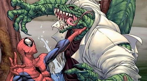 amazing spider-man concept art lizard movies spoilers superheroes - 5500996864