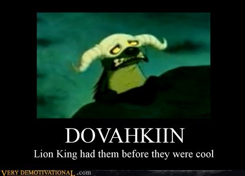 dovahkiin hilarious hipster lion king - 5501024768