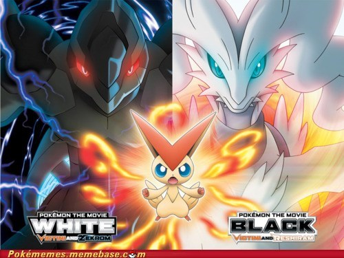 pokemon movie theaters tv-movies victini white and black - 5501061888