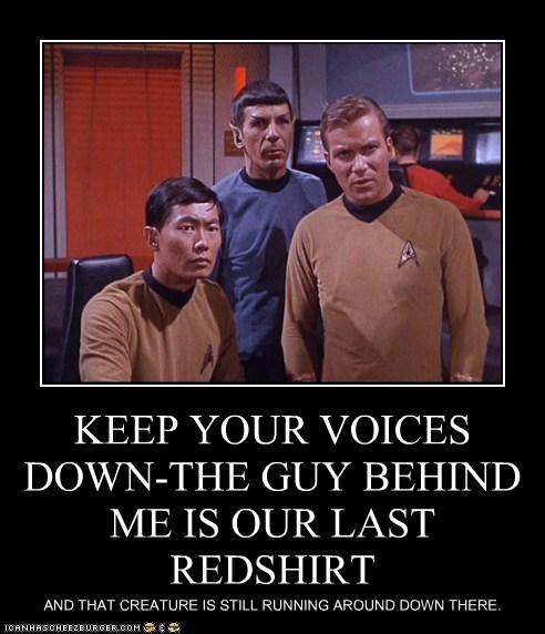 Captain Kirk george takei Leonard Nimoy redshirts Shatnerday Spock Star Trek sulu William Shatner - 5501351424