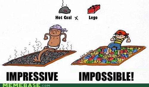 coal,impossible,kids,lego,Memes,pain,what
