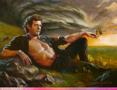 art,cool,funny,jeff goldblum,jurassic park,Movie,sexy