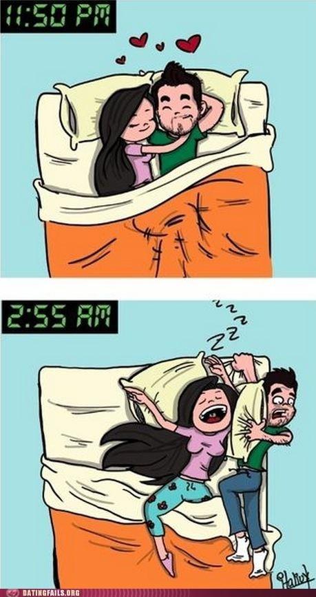 bedtime,blanket hog,equality,Hall of Fame,side,sleeping