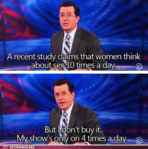 dirty mind Hall of Fame hey ladies ladies sex showtime stephen colbert