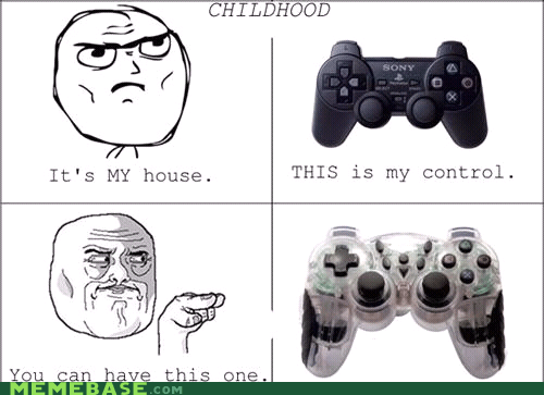 childhood,controller,Rage Comics,video games