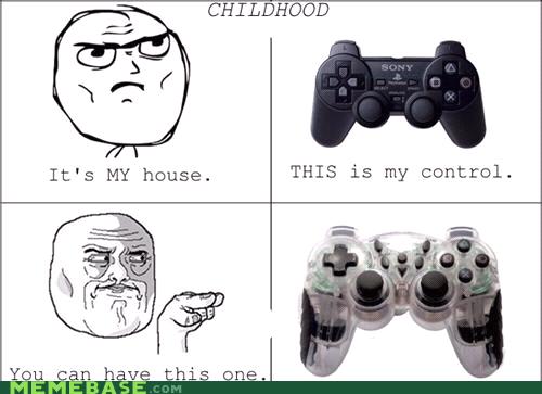 childhood controller Rage Comics video games - 5501908992