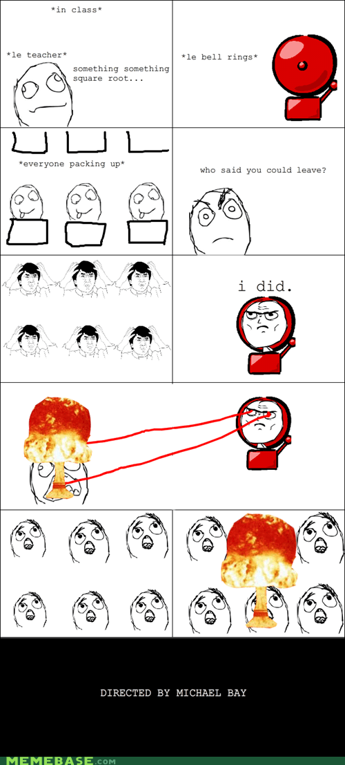 bell best of week Rage Comics school teacher truancy story - 5501915136
