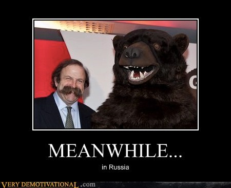 bear hilarious mustache russia wtf - 5501972224