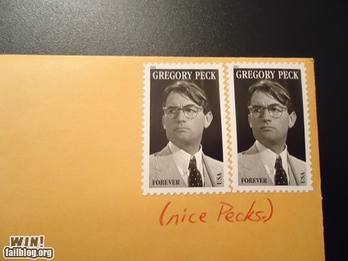 celeb,postage,pun,To Kill A Mockingbird