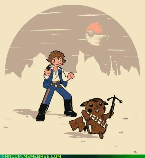 crossover Fan Art Pokémon star wars - 5502666240