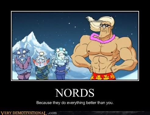 cartoons cold hilarious nords shorts Skyrim
