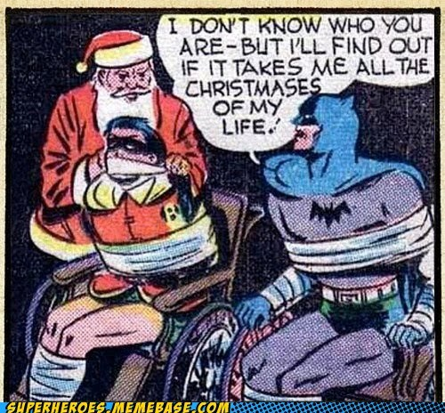 batman robin santa Straight off the Page wtf - 5503286784