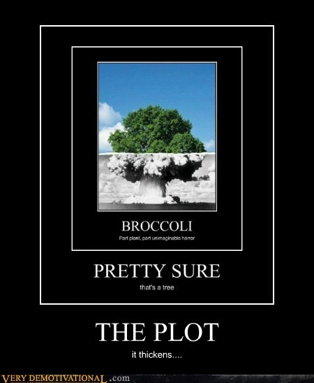 broccoli,hilarious,mushroom cloud,tree