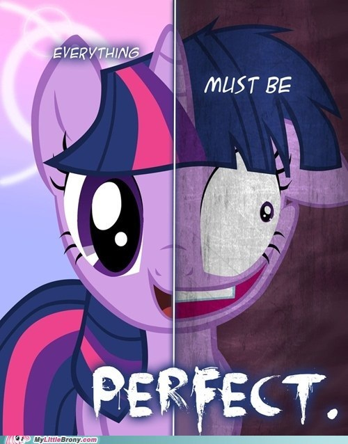 awesome best of week mane six ponies poster scary twilight sparkle two sides - 5503829248