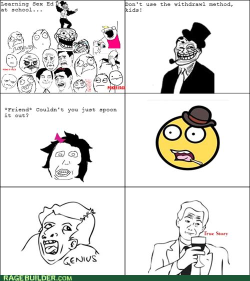 Rage Comics,sex ed,spoon,wtf
