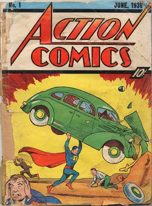 action-comics-1,auction,comics,most expensive comic book,Nerd News,nic cage,nicolas cage,superman