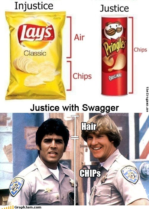 chips justice Lays pringles TV - 5504492544