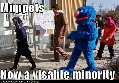 minorities,muppets,political pictures