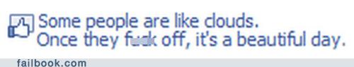 clouds facebook failbook like lol people social media truth weather - 5504731648