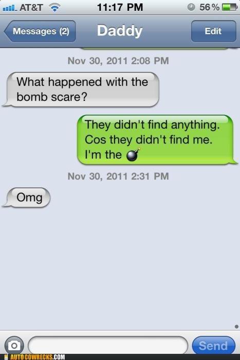 bomb bomb scare im-the-bomb - 5504784896