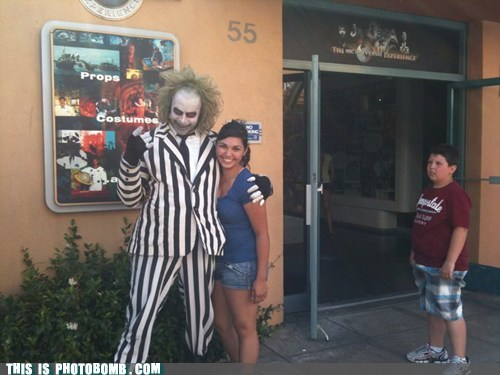 beetlejuice costume kid Kids are Creepers Too pose