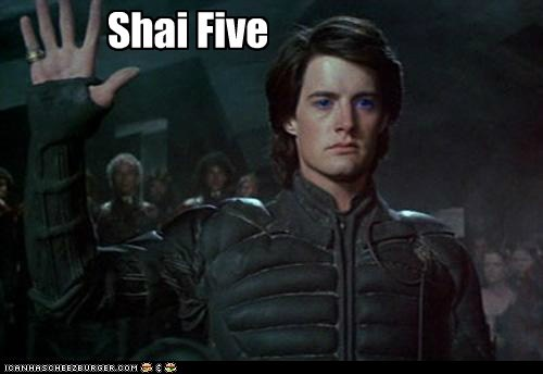 Dune high five kyle maclachlan paul atreides sandworms