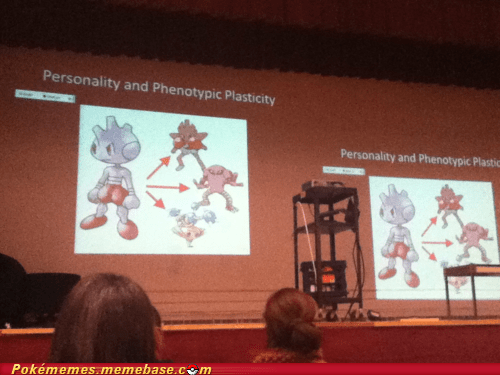 evolutions,IRL,lecture,personality,psychology