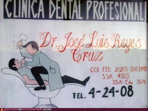 advertising dental dentist wtf - 5505092864