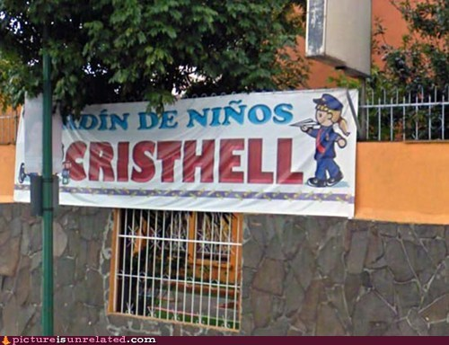 christ hell kindergarten wtf - 5505164288