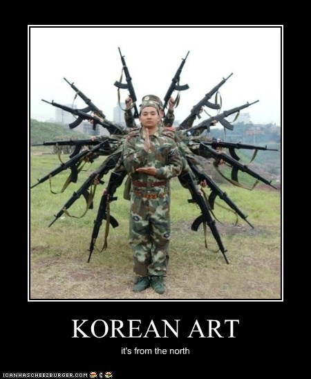 KOREAN ART it's from the north