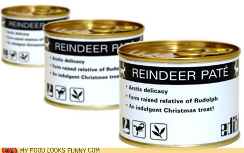 can delicacy meat pate reindeer