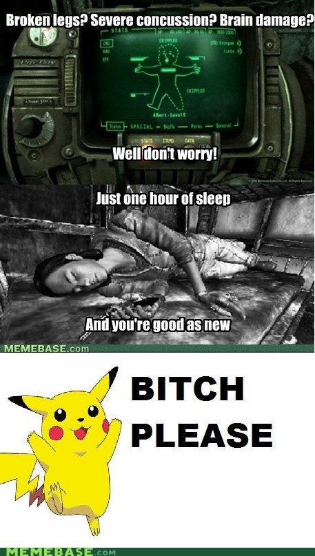 comic fallout healing pikachu pokemon center sleep - 5505388288